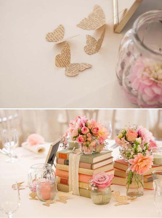 10 Selbst Machen Hochzeitsdeko Ideen Schmetterling Zeitung Vintage Neuanfang Schmetterlinge Hochzeit Idee