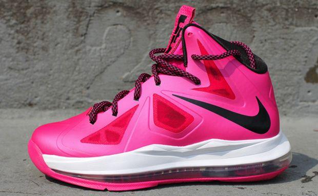 Nike LeBron X GS Pink/Black