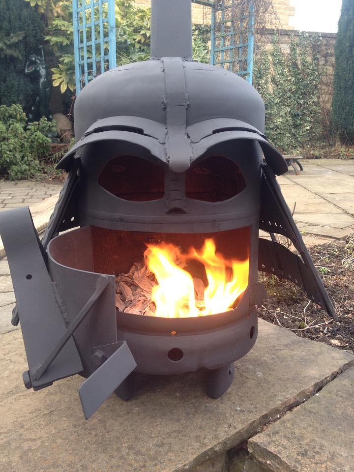 perfect darth vader wood burner 13