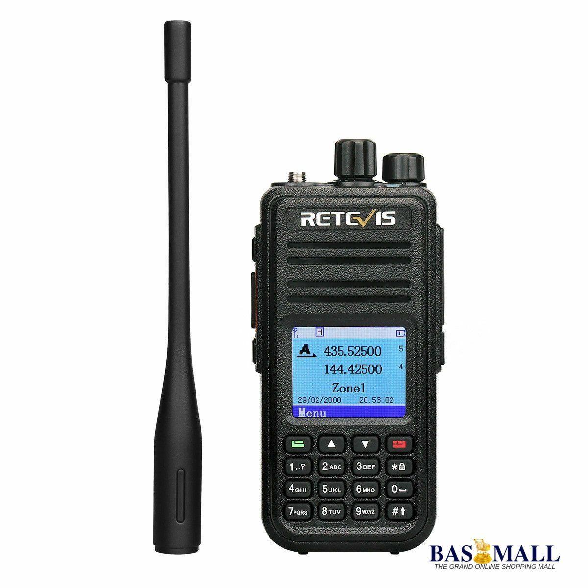 Retevis RT3S GPS Dual Band 3000CH 5W TDMA VOX Emergency Alarm Walkie Talkie Radio  #baggagescanner #construction #icom #walkietalkie #ceo #baofeng #portharcourt #securityguard #motorolasolutions #hytera