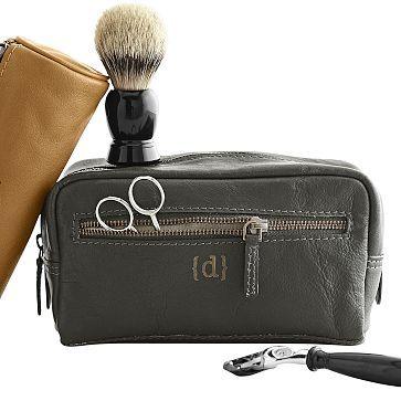 I love the Gentleman's Dopp Kit on markandgraham.com