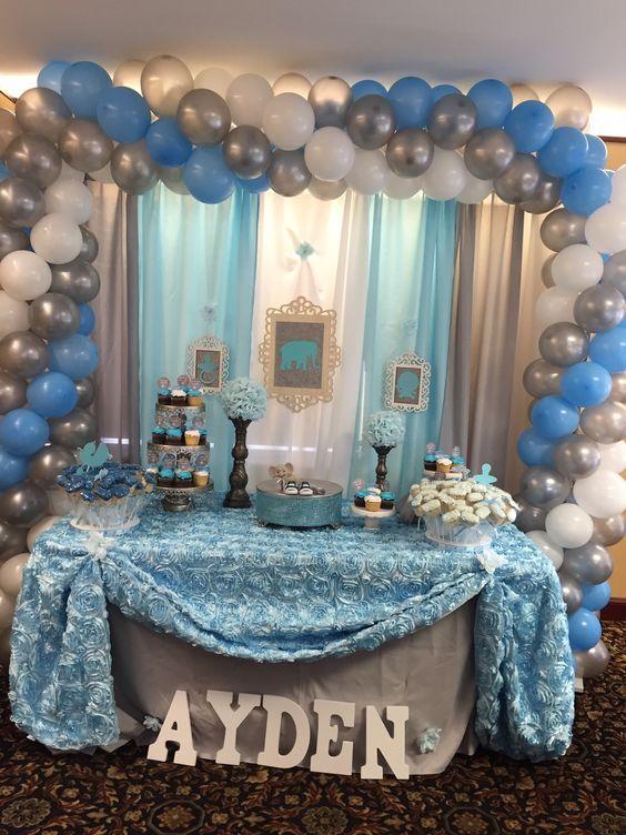 55 Beautiful Diy Baby Shower Decorating Ideas Baby Shower Decorations Baby Shower Decorations For Boys Baby Shower Diy