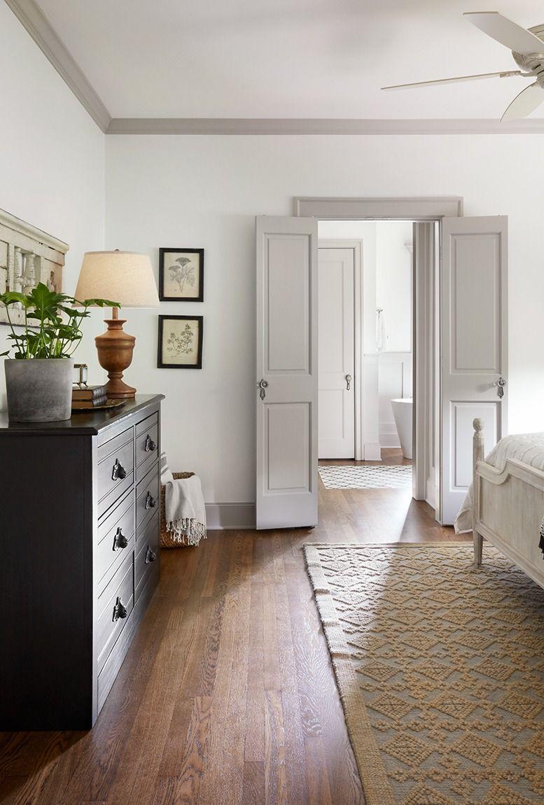 Open Bedroom Door Doors interior, Stained doors, Wood