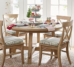 Linden Round Pedestal Dining Table Dining Table Decor
