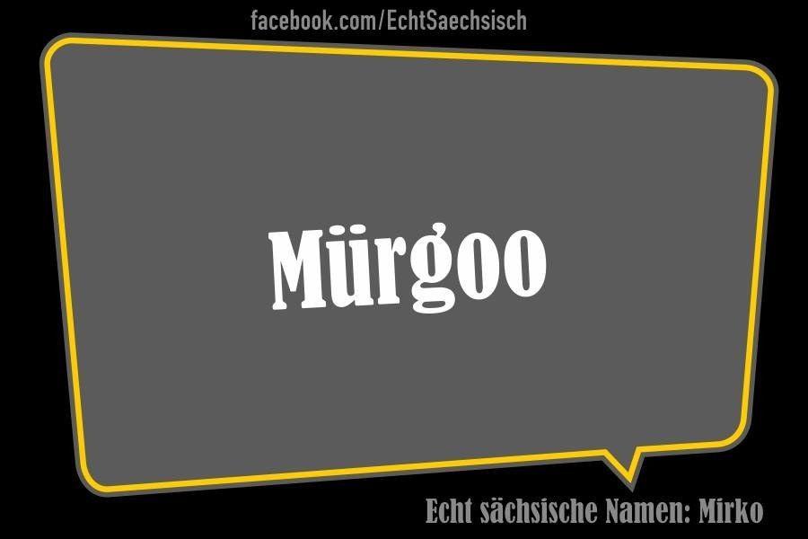 Vornamen Auf Sächsisch