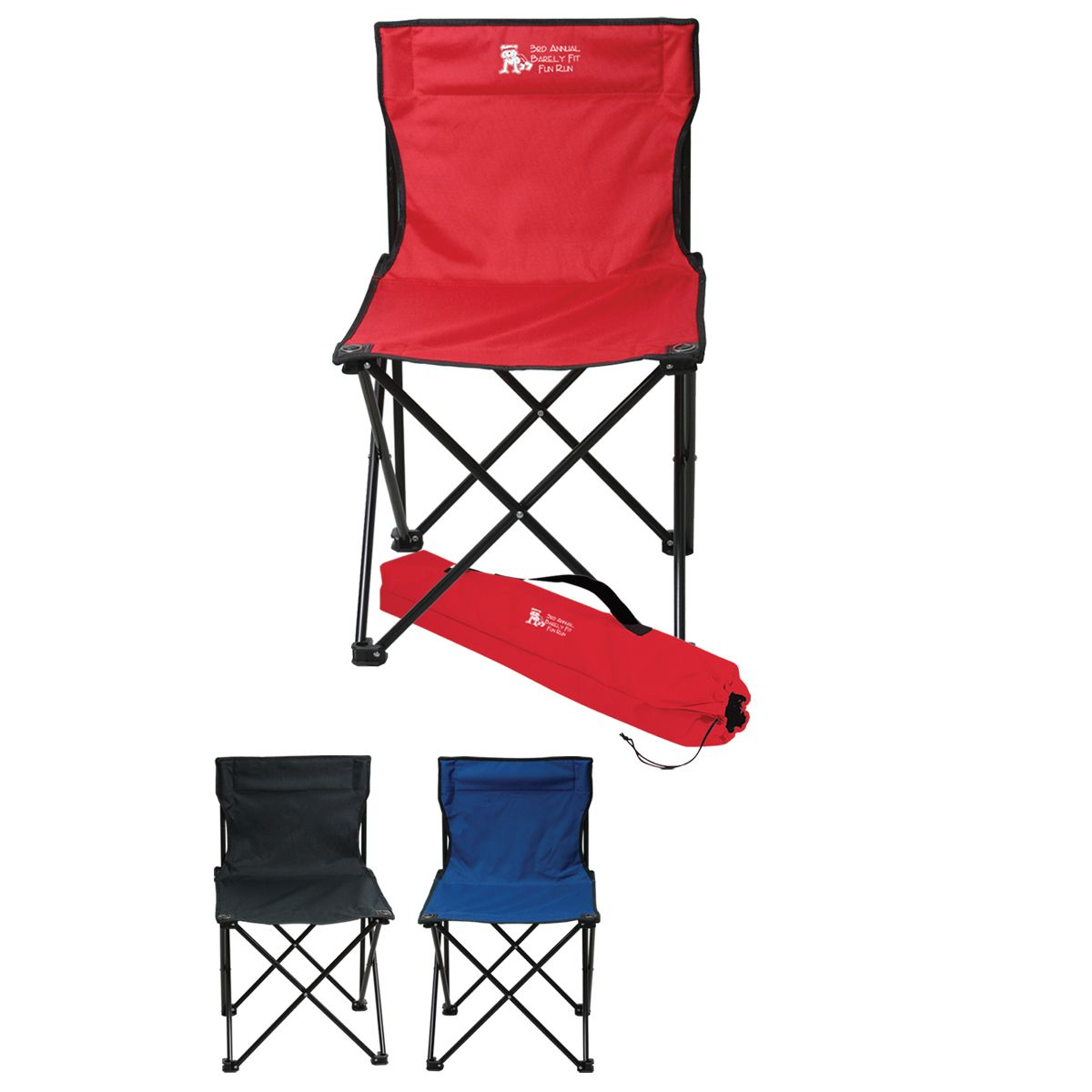 These Are The Perfect Folding Chairs For Tailgating At Your Next Game Comes With It S Own Carrying Ca Folding Chair Outdoor Folding Chairs Personalized Chairs