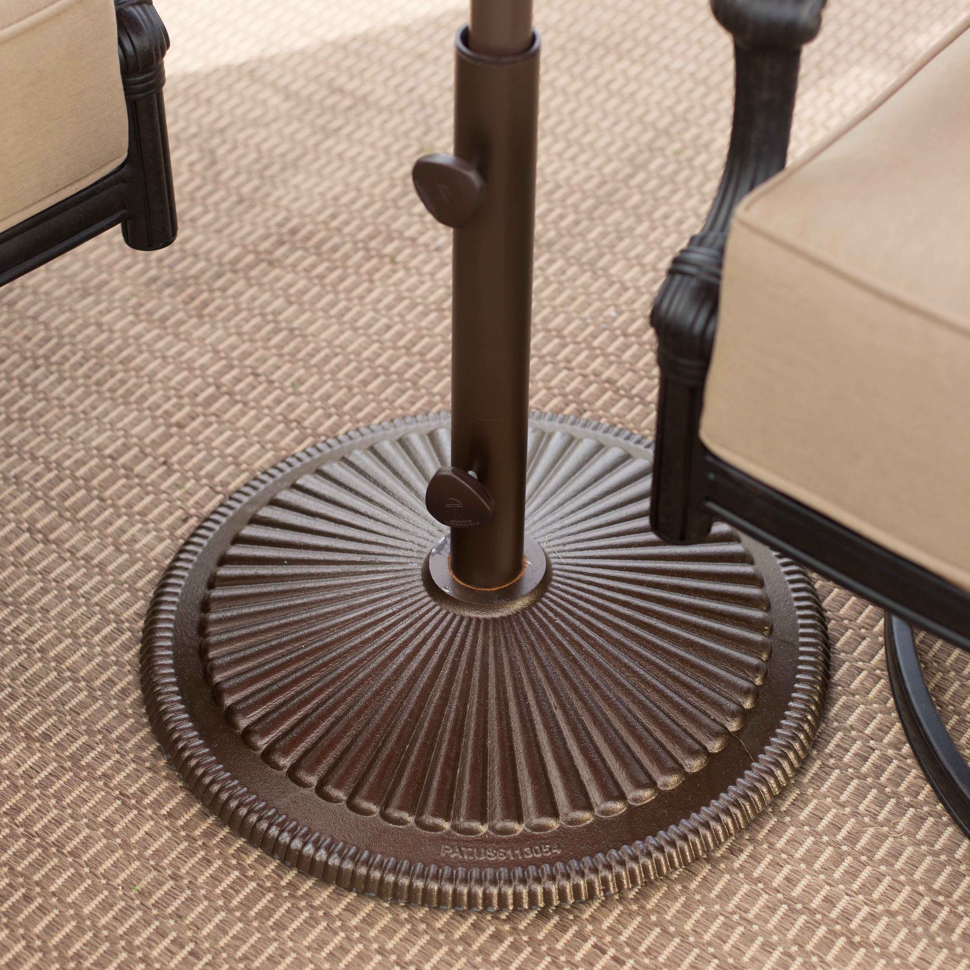 Treasure Garden 50-lb. Classic Patio Umbrella Stand | www ...