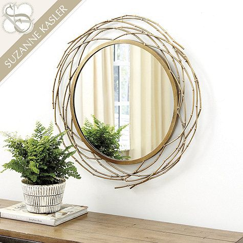 Suzanne Kasler Willow Branch Mirror Living rooms Branches and 26