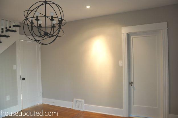 Benjamin Moore London Fog Paint Perfect Grey Paint Interior