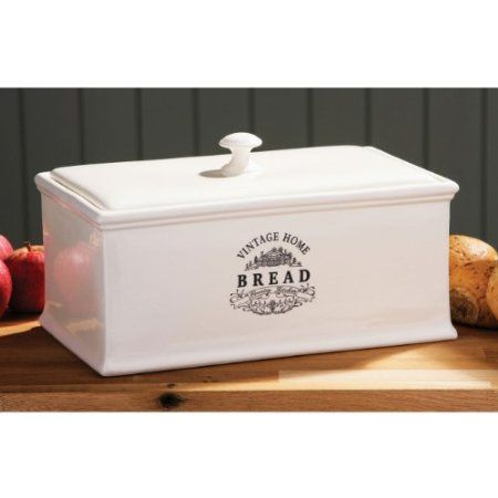 Bountiful Ceramic Bread Box Ceramic Bread Box Bread Boxes Bread Storage