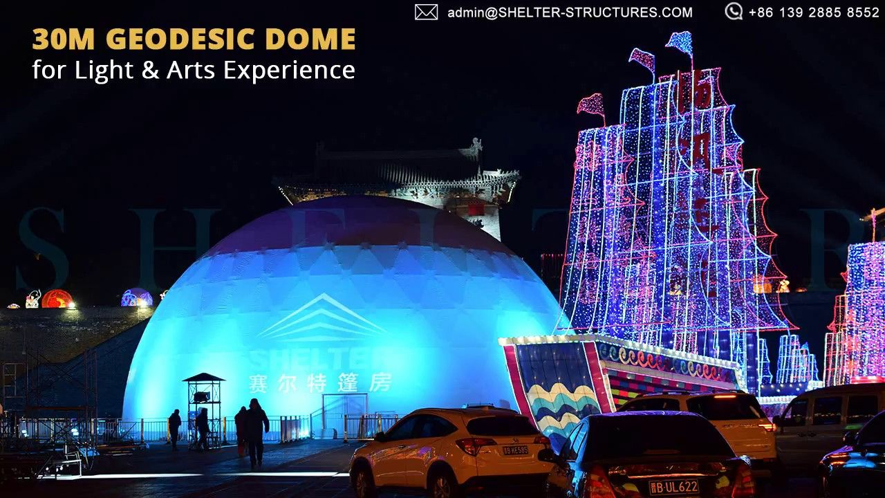 Check our recently project with the domes. #ShelterDome ...