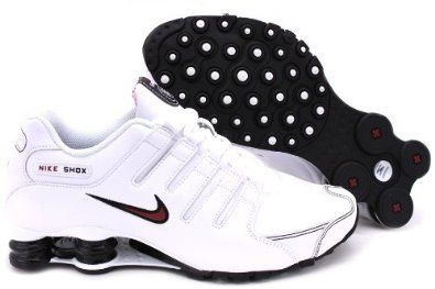 newest 2e2a2 c3568 Nike Shox NZ Mens Running Shoes black and red size 10 1/2 | JCT ...