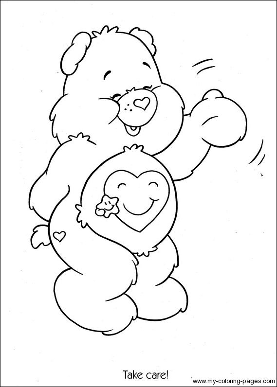 Care Bears Coloring016 Crafty