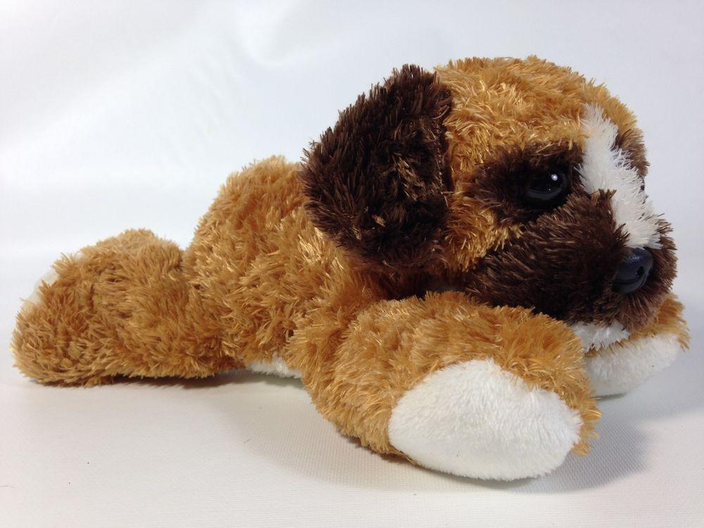 Aurora Boxer Puppy Dog Plush Stuffed