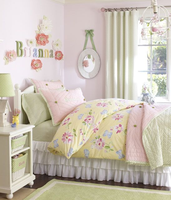 How To Personalize A Girl S Room Pottery Barn Kids Girls Room Colors Modern Bedroom Decor Blue Bedroom Decor