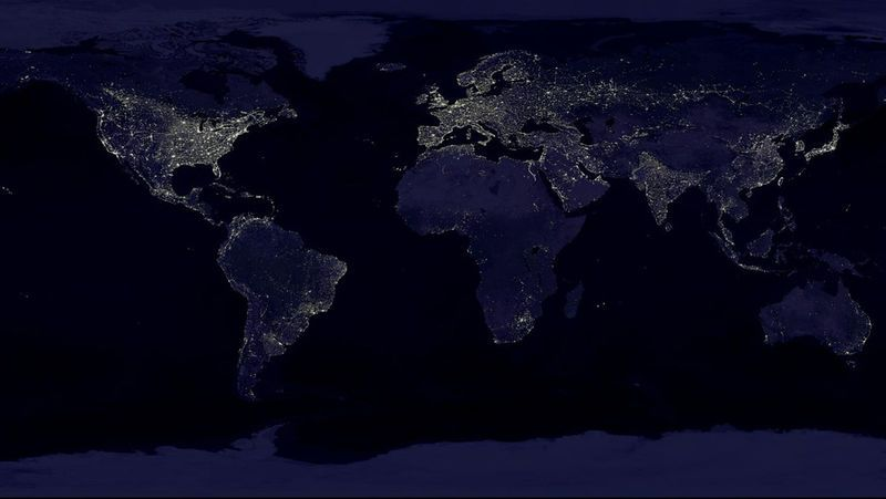 Earth by Night | NASA Satellite Picture