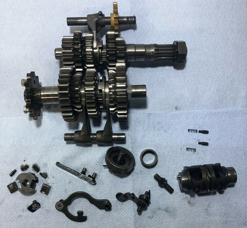 small resolution of  sponsored ebay suzuki ltr 450 oem engine transmission gears shift super complete 06 07