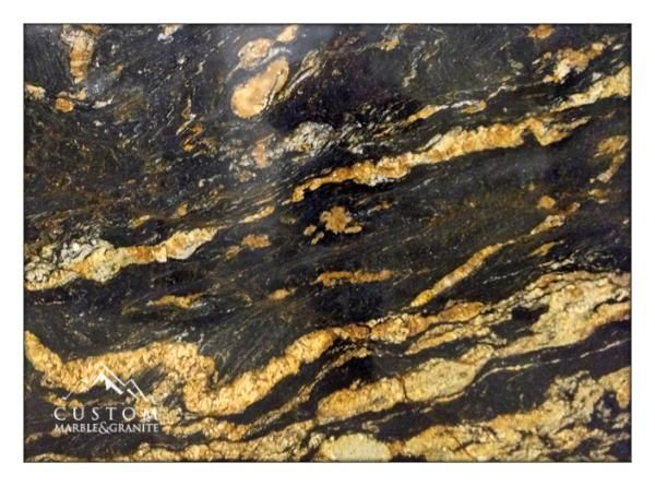 Black And Gold Granite Google Search
