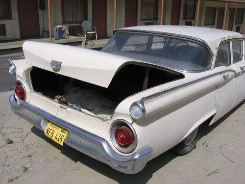 Marion Crane's car