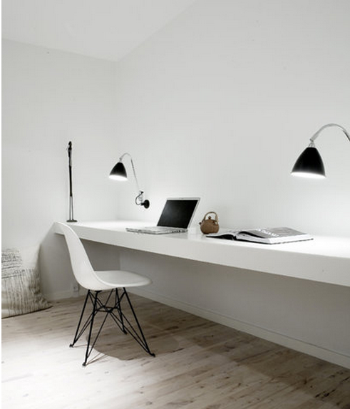 Charmant Minimalist Computer Desk