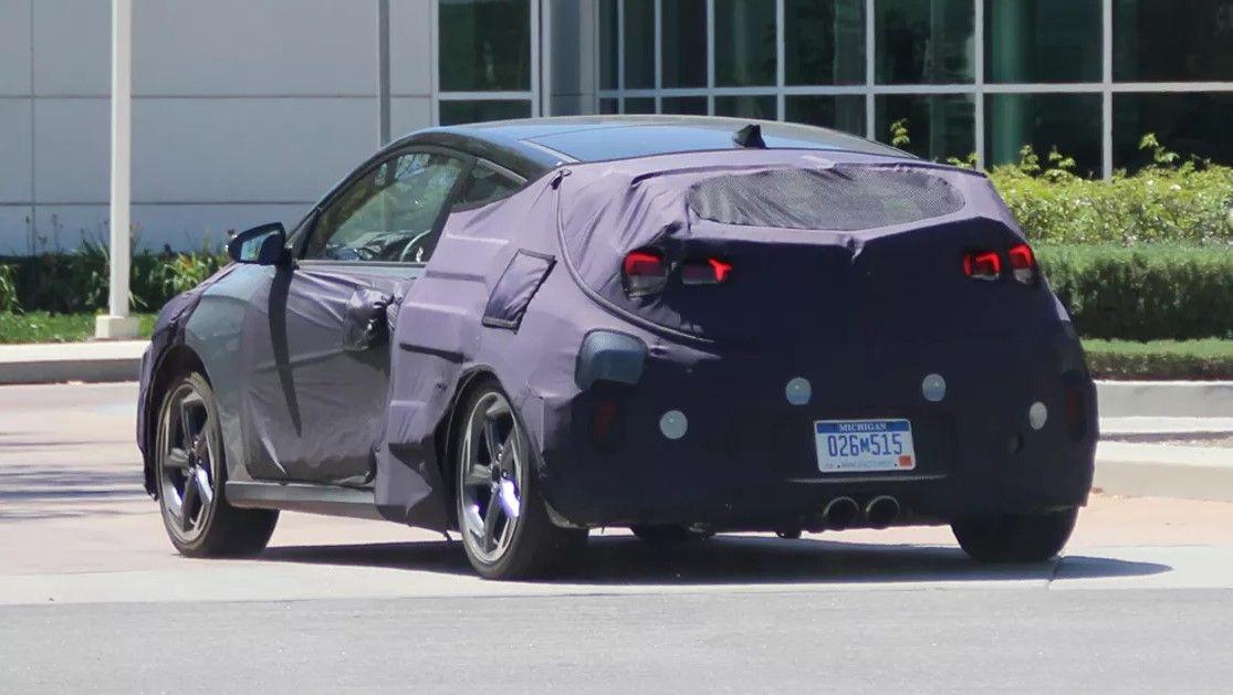 2018 Hyundai Veloster Spyshots Future Vehicle Preview