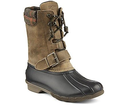 Sperry Top-Sider Women's Saltwater Misty Plaid Duck Boot