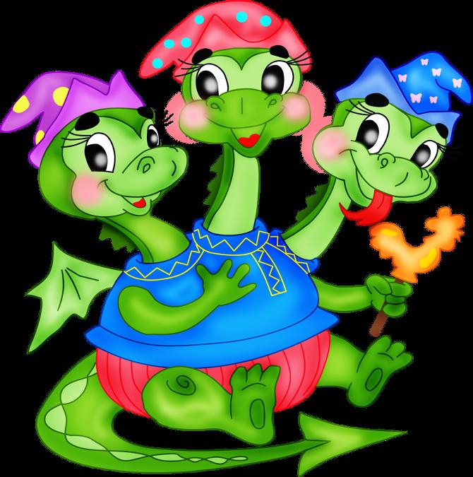 Змей горыныч картинки для детей нарисованные