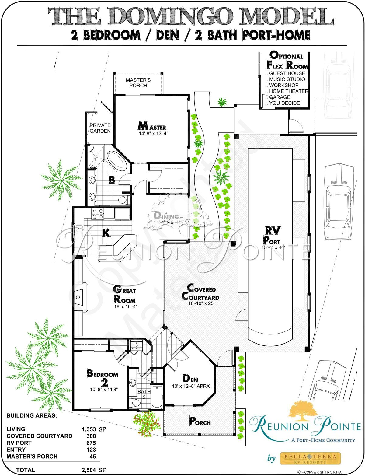 Domingo Rendering Slide Med Garage House Plans House Floor