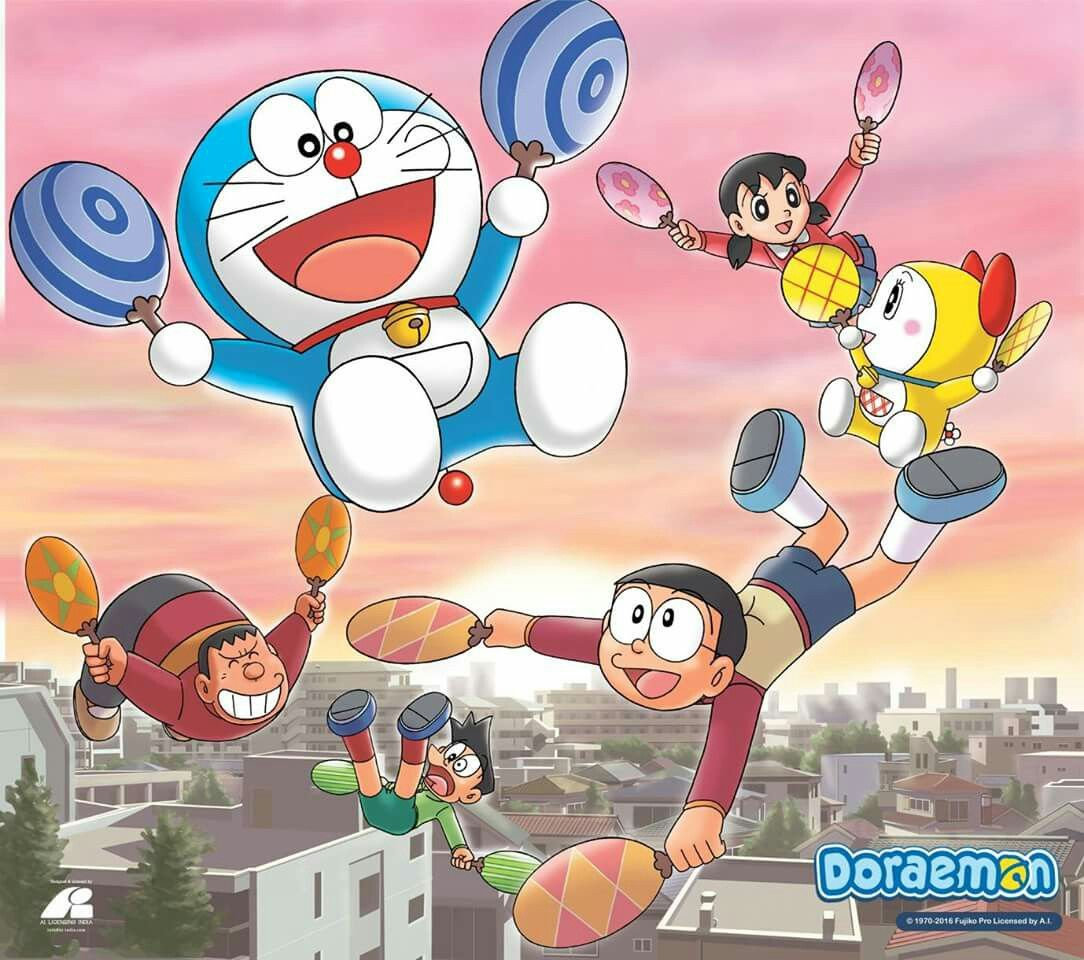 It doesn't really have a relevance to how people recognized Doraemon as  male, since he's mostly blue, most of the time.