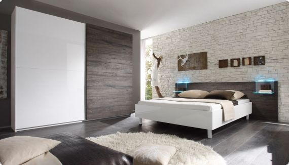 Schlafzimmer Weiss Hochglanz | varsovia.co