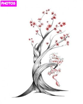 Japanese Cherry Blossom Tree Blossom Tree Tattoo Cherry Blossom Tree Tattoo Cherry Tree Tattoos