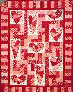 Valentines I Can See This Happening For A Throw Quilt Quilt