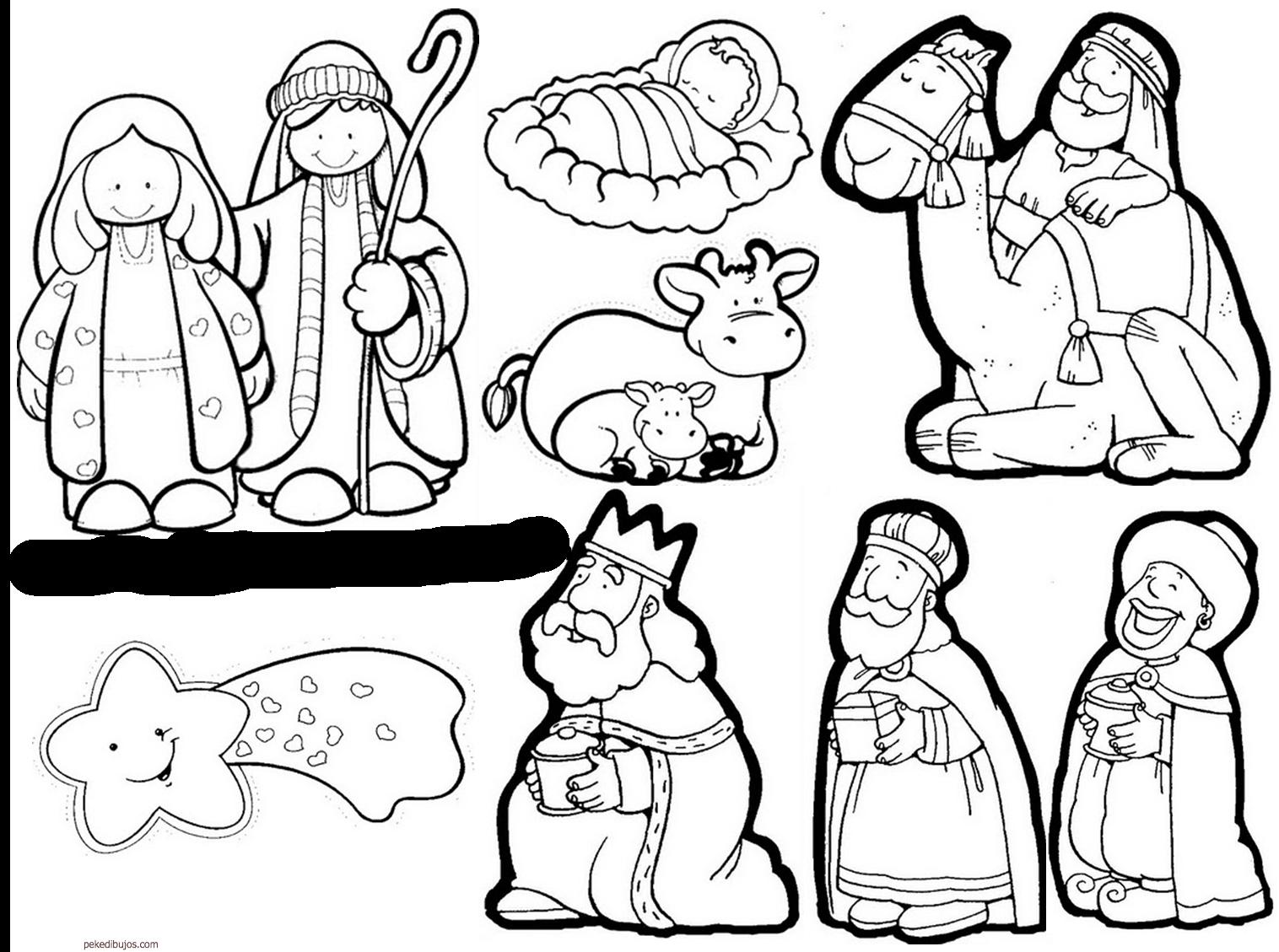 Resultado De Imagen Para Nacimiento Para Colorear Christmas Cards Drawing Preschool Christmas Crafts Printable Christmas Decorations