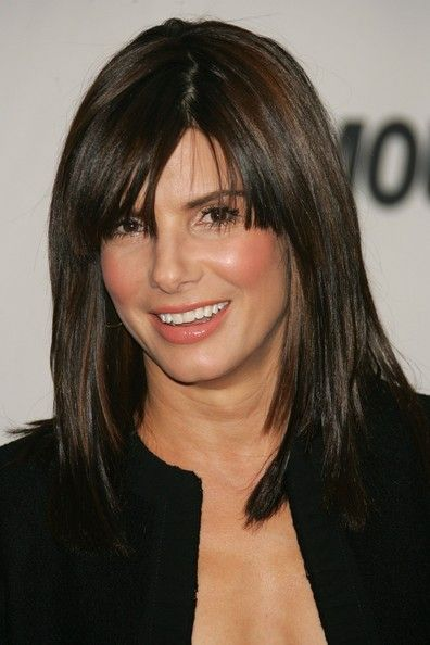 sandra bullock hair styles more pics of bullock medium cut with bangs 4396 | 23689bbaf7b7f8bb964ba13e745e3d4a