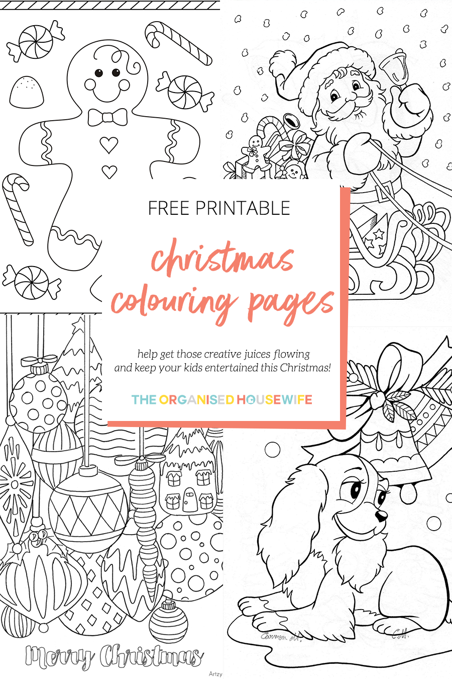 A Huge List Of Printable Christmas Colouring Pages To Help Get Those Creat Printable Christmas Coloring Pages Christmas Coloring Pages Christmas Coloring Books