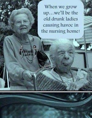 Old ladies friends