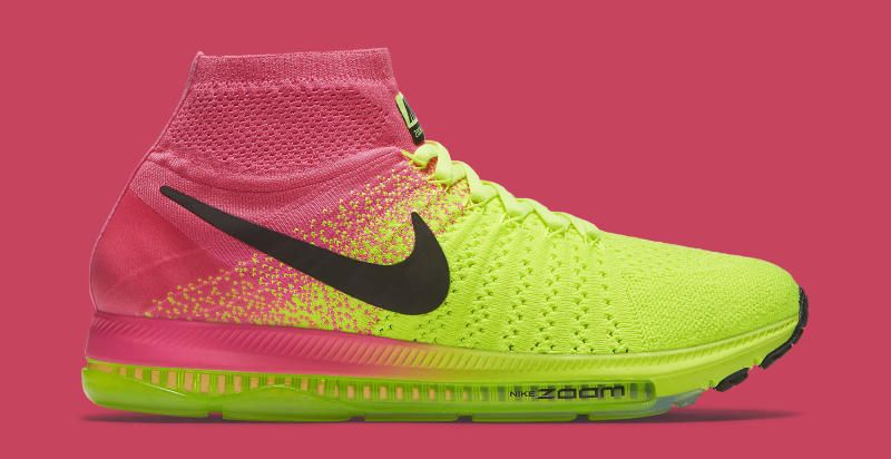 Nike's LunarEpic Flyknit Meets Zoom Cushioning: Nike swaps Lunar cushioning  out for Zoom to create the Zoom All Out Flyknit.