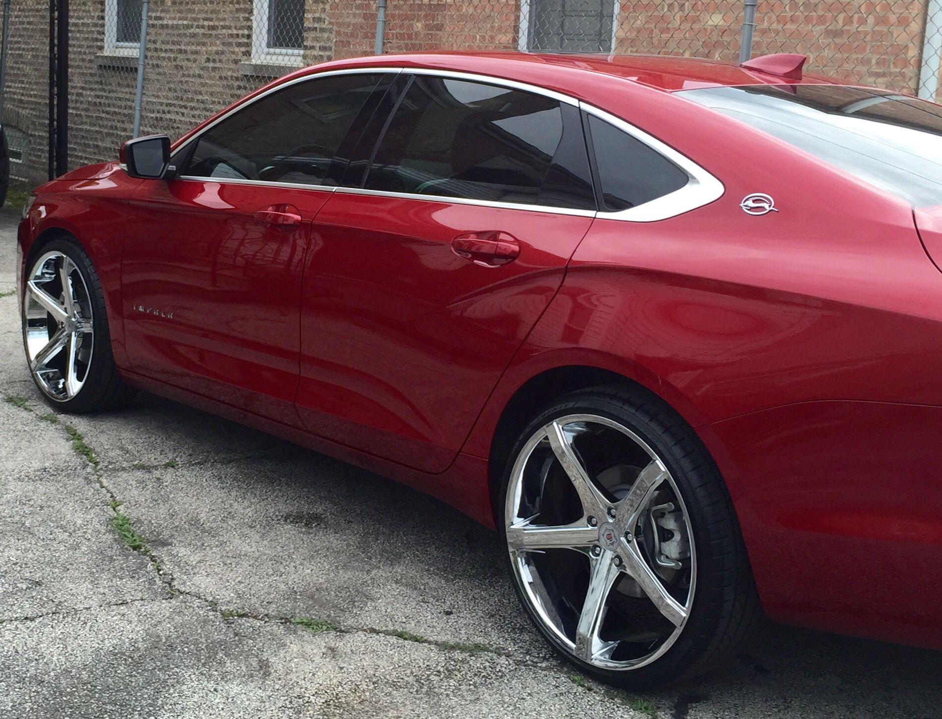 New Rims And Tint To My 2015 Impala Chevy Impala New Impala