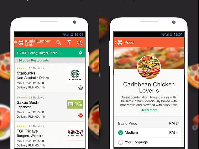 Uber Eats, Zomato and Food Panda Clone Foodpanda app