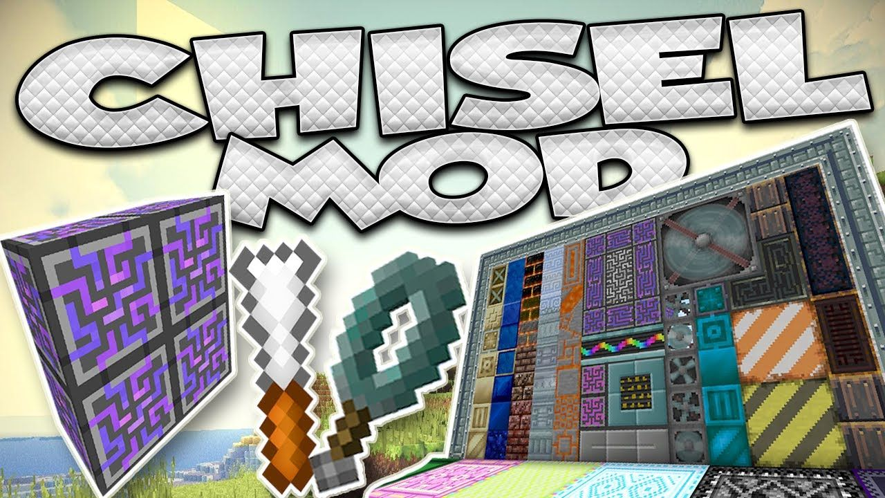 Minecraft Kitchen Mod 1.12.2 Chisel Mod 1 12 2 1 11 2 Is A Mod That Every Artist Playing