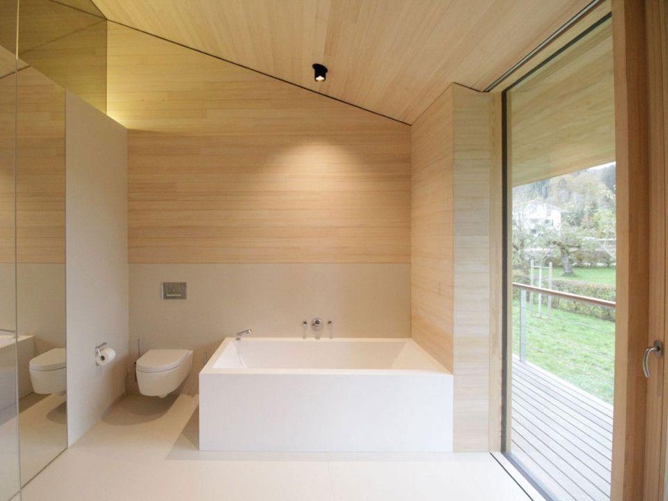 Badezimmer Architektur dietrich untertrifaller architekten bath