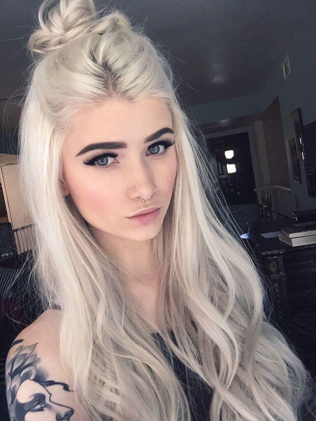 Pin By Ioumim On Tumblr Girls 3 Pinterest Hair Style Makeup
