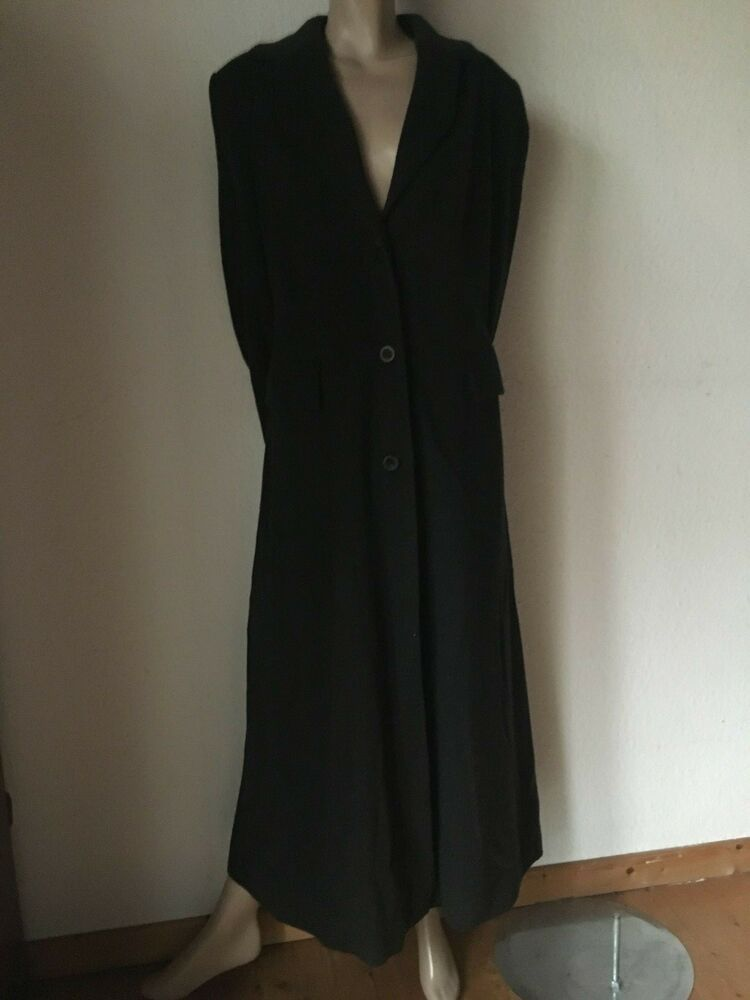 Cashmere Mantel Von Marc Cain Anthrazit N 4 Trenchcoat In 2019 Dresses With Sleeves Short Sleeve Dresses Cashmere