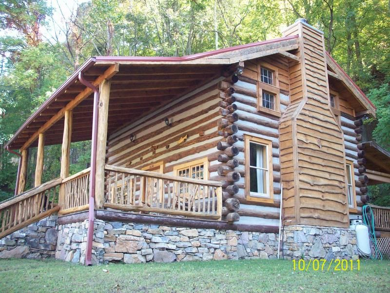 The Limestone Cabin Is 100 Year Old Log Cabin That Was