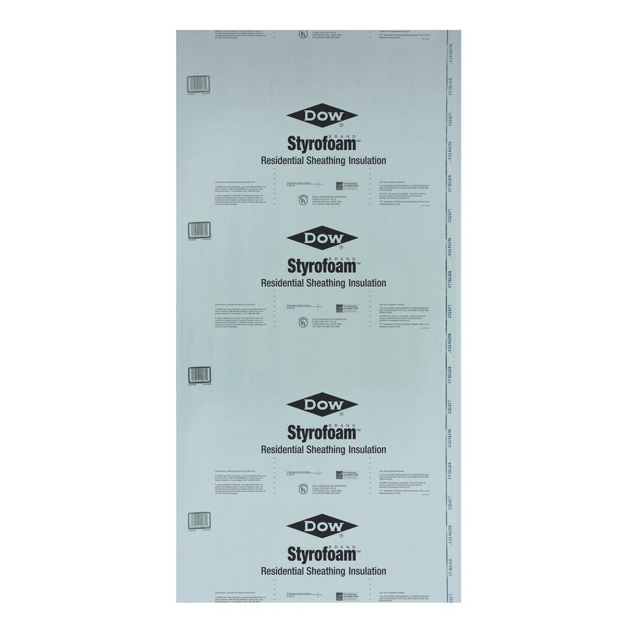 R5 Unfaced Polystyrene Foam Board Insulation Common 0 5 In X 8 Ft X 4 Ft Actual 0 437 In X 7 937 Ft X 3 875 Ft Insulation Garage Door Insulation Star Ceiling