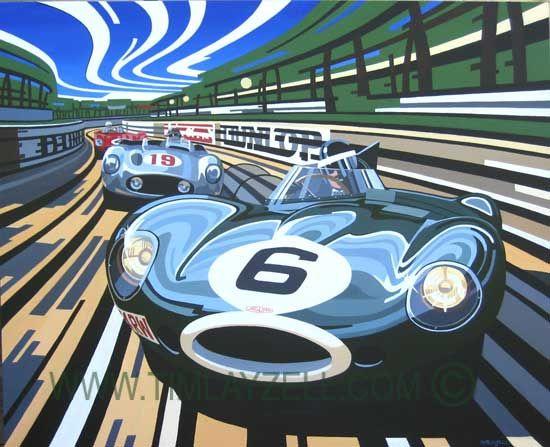 Tim Layzell Automotive Art