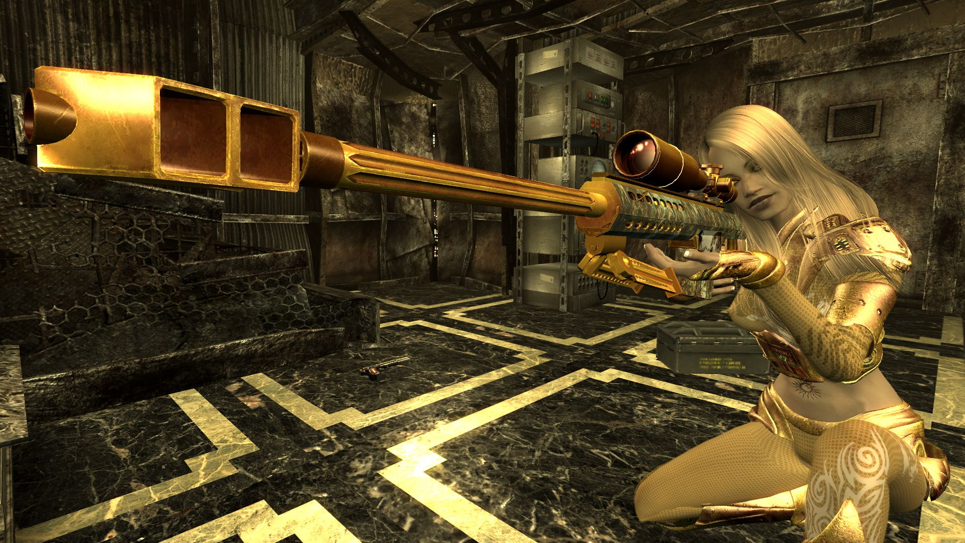 fallout 3 mod The Finger Of God sniper rifle on the Nexus | Game Props | Pinterest | Game props