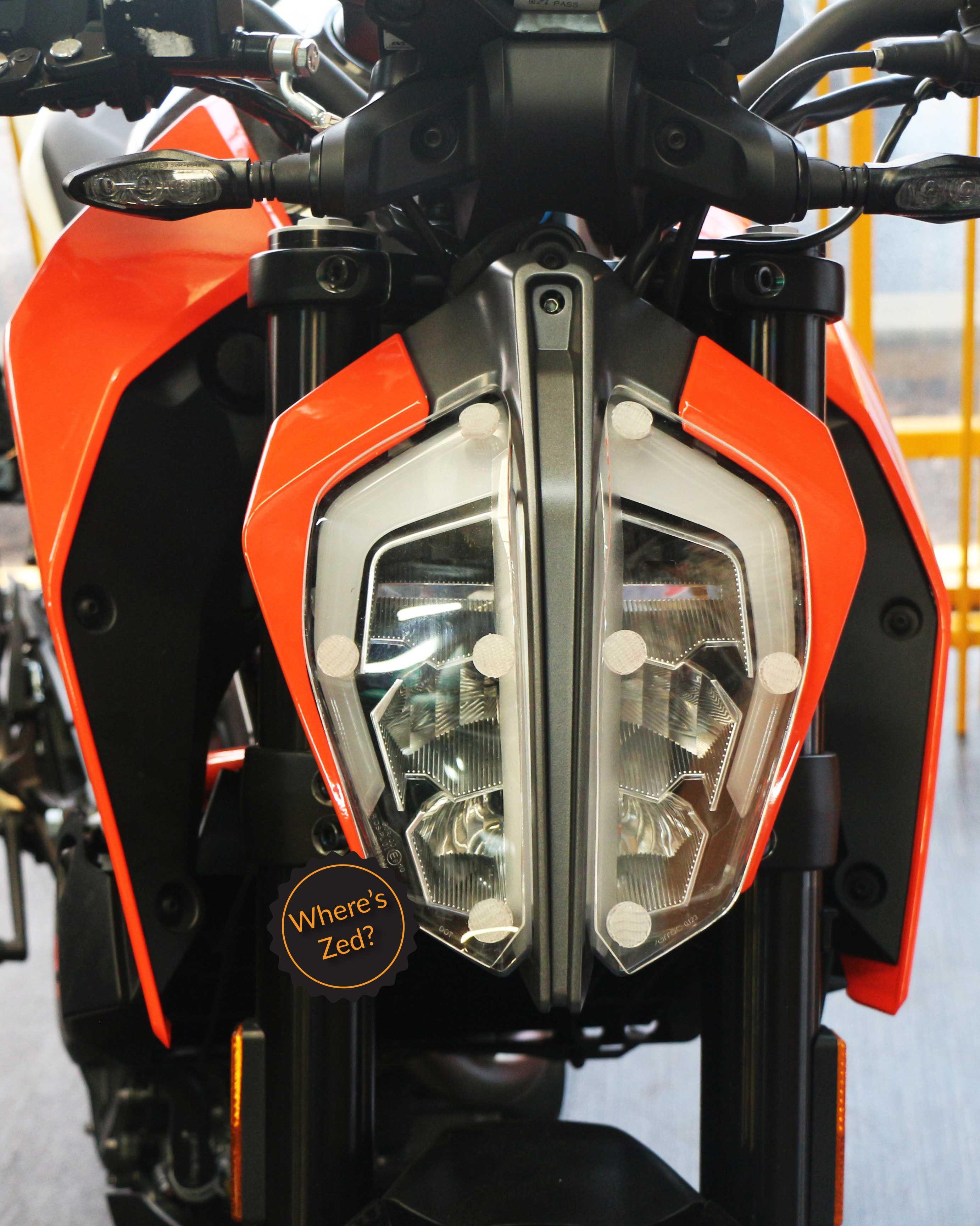 390 Duke Motorcycle Headlight Protector Light Guard Duke