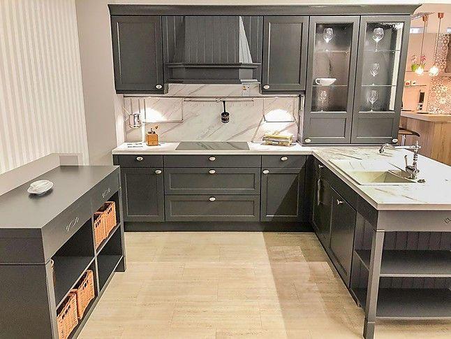 Landhausküche in graphit ohne Geräte Landhausküche, Haus