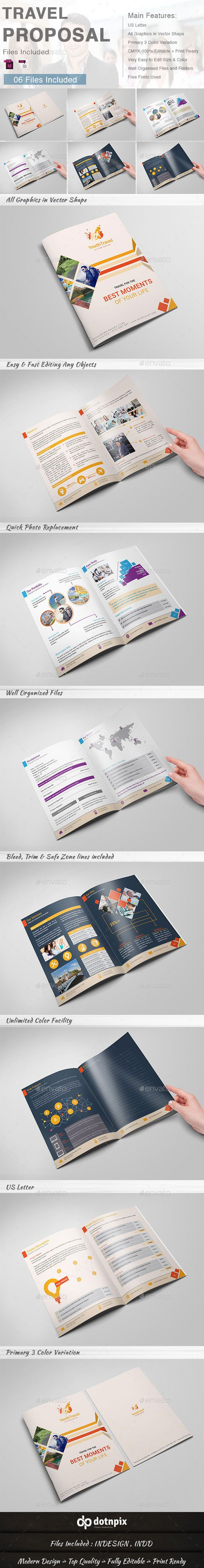 travel proposal proposals proposal templates and template